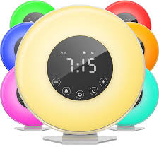 COULAX Wake Up <b>Light</b> Upgraded Sunrise Alarm Clock Time ...