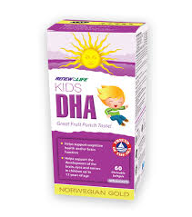 RENEW LIFE <b>NORWEGIAN GOLD</b> OMEGA 3 <b>KIDS</b> DHA 60'S ...