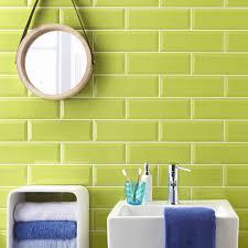 green bathroom tiles purple tile