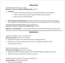 hvac resume templates – free samples   examples  amp  formatsample resume for hvac tech