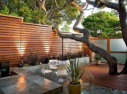 awesome house courtyard d awesome modern landscape lighting design