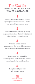 how to network and land a new job 5 tips for you get