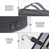 LVLY Hanging Travel Toiletry Bag for Women and ... - Amazon.com
