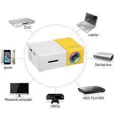 Portable <b>Mini Pocket</b> 1080p Cube <b>LED</b> DLP Multimedia Video ...