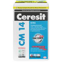 <b>Клей для керамической плитки</b> и керамогранита <b>Ceresit</b> CM 14 ...