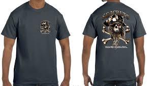 <b>Bearded Skull</b> T-shirt | Seacrets® Boutique