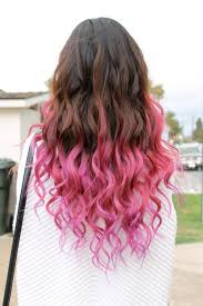 Znalezione obrazy dla zapytania kolorowe ombre na włosach