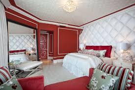 fascinating bedroom decorating ideas with grey headboard bed along beautiful design and colour schemes white red bedroom furniture interior fascinating wall