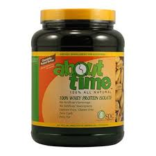 About Time 100% <b>Natural Whey Protein</b> Isolate, Chocolate Peanut ...
