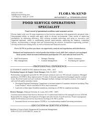 food service industry resumes template food service industry resumes