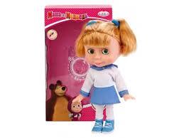 Купить <b>куклу Карапуз Маша</b> и Медведь, Матросский костюм ...