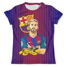 """Мужские футболки c уникальными принтами """"<b>барселона</b> ..."""