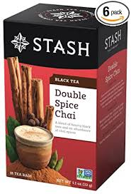 Stash Tea Double Spice Chai Black Tea, 18 Count ... - Amazon.com