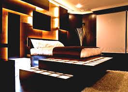 built contemporary bedroom