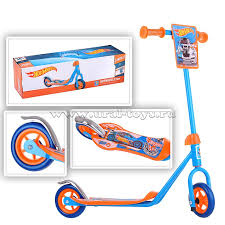 <b>Самокаты</b>, <b>1Toy Самокат</b> Hot wheels, <b>2</b>-<b>х</b>.кол.