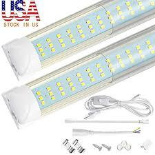 20Pack-8FT LED Shop Light Fixtures, 8 Foot, <b>120W</b>, 12500LM ...