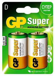 Купить <b>D Батарейка GP</b> Super Alkaline 13A LR20 <b>в</b> интернет ...