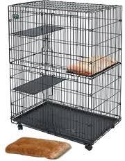 <b>MidWest клетка</b> для кошек <b>Cat Playpens</b> 91х60х128h см