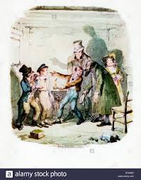 oliver twist nancy stock photos oliver twist nancy stock images oliver twist back to fagin and the boys original illustration by george cruikshank for the dickens