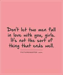 Love Triangle Quotes & Sayings | Love Triangle Picture Quotes via Relatably.com