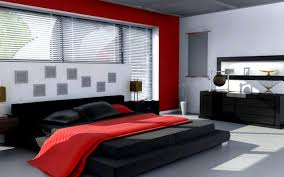 red black white bedroom accessories