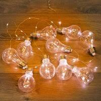 «<b>Neon</b>-<b>Night Гирлянда светодиодная</b> Ретро-лампы , 3 м, теплый ...