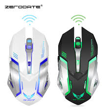 <b>DASENLON STORE Zerodate Gaming</b> Mouse, 2.4GHz Wireless ...