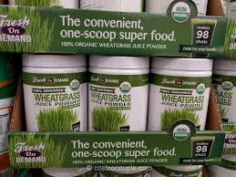 fresh on demand organic wheatgrass