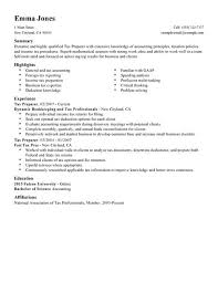 Best Tax Preparer Resume Example   LiveCareer