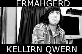 mine Black and White meme Kellin Quinn sleeping with sirens sws bw ... via Relatably.com