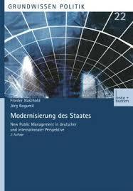 Bücher: Modernisierung des Staates von Frieder Naschold, Jörg Bogumil - modernisierung_des_staates