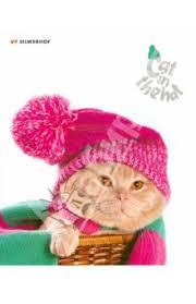 """<b>Тетрадь</b> 48 листов, клетка ""<b>Cat</b> in the hat"", в ассортименте ..."