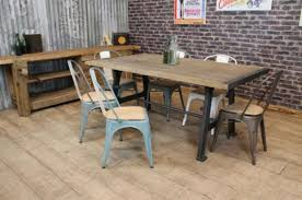 Industrial Style Kitchen Table Industrial Style Dining Room Chairs Euskalnet