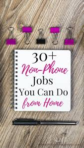 17 best images about work from home work from home 30 non phone work from home jobs
