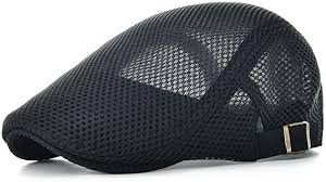 VOBOOM <b>Men Breathable mesh Summer</b> hat Adjustable Newsboy ...