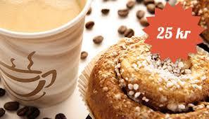 Bildresultat för kaffe och bulle