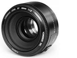 <b>Объектив Yongnuo</b> YN <b>50mm</b> f/1.8 Canon EF купить в интернет ...