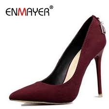 Detail Feedback Questions about <b>ENMAYER</b> Stiletto Heels Shoes ...
