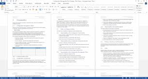 configuration management plan page ms word template another example of the styles tables formatting contents and layout