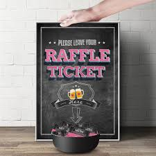 diaper raffle sign baby is brewing printable file 128270zoom