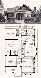 Bungalow floor plans  Cottage house plans and Bungalows on PinterestPlan No  R  c Cottage House Plan by A  E  Stillwell   vintage