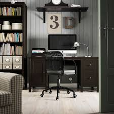 ikea office furniture home bespoke workstation desks a brown home office with hemnes table and bookcase amazing ikea home office furniture design amazing