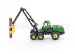 <b>Трактор John</b> Deere с манипулятором 1652 <b>Siku</b> — купить в ...