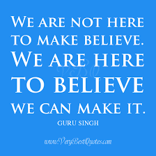 we can make it quotes, belief quotes - Inspirational Quotes about ... via Relatably.com