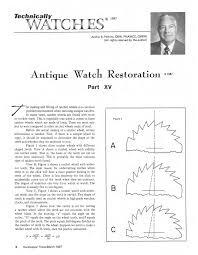 quartz watch movements