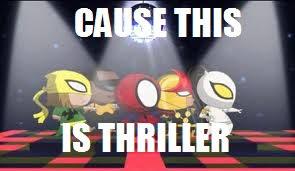 DeviantArt: More Like Ultimate Spider-man meme 9 by edgiestmaple11 via Relatably.com