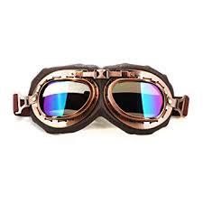spiid Motorcycle Goggles, Vintage Aviator Style ... - Amazon.com