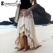 Embroidered Gypsy Cotton <b>Skirt</b> – V.I.B.E. Living