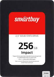 Твердотельный накопитель 256Gb SSD <b>SmartBuy Impact</b>, SBSSD ...