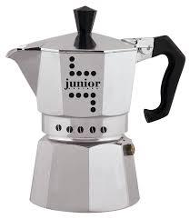 """Гейзерная <b>кофеварка Bialetti """"Junior"""", на</b> 9 порций, Алюминий"""